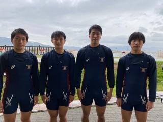 2021中日本 男子フォア