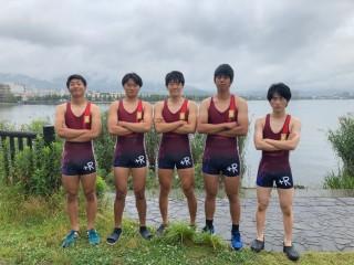 男子フォア 滋賀2021